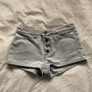 American Apparel Denim Shorts - size 25